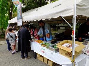 深大寺手作り市「須賀川物産展」